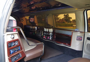 Party limo in Leamington Spa
