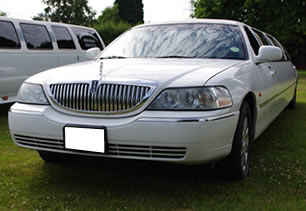Lincoln limo in Warwickshire