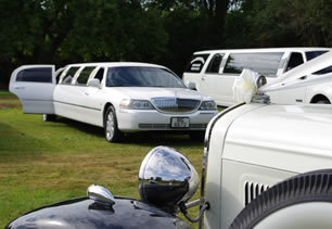 Range of wedding limos